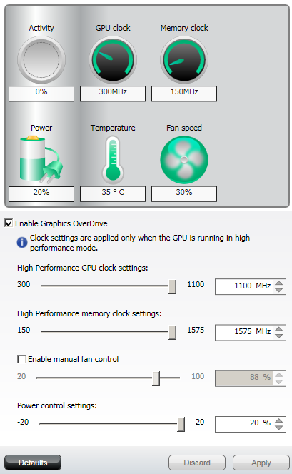 Radeon HD 7950 Overclock guide