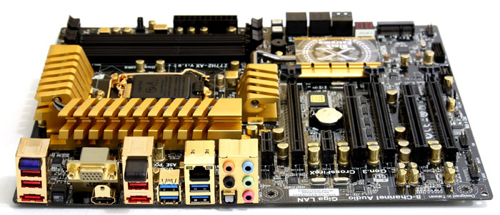 ECS Z77H2-AX Golden motherboard preview - Page 2