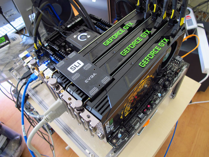 GeForce GTX 680 3-way SLI