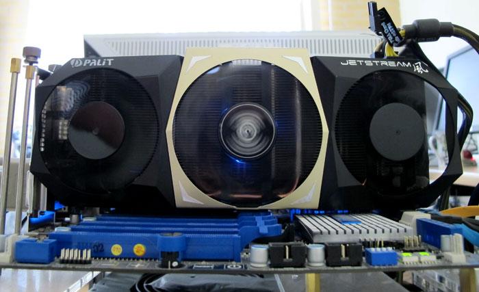 Palit GeForce GTX 680 4GB Jetstream review - Hardware installation