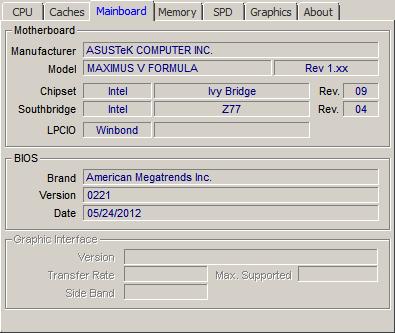 ASUS MAXIMUS V FORMULA CPU-Z 64BIT DRIVER