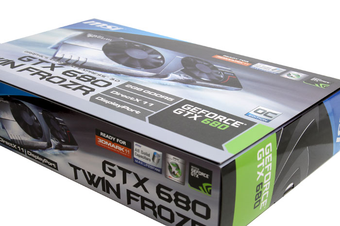 MSI GeForce GTX 680 TwiNFrozr III OC