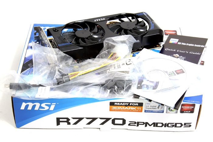 MSI Radeon HD 7770 OC