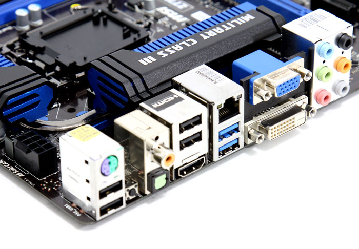 MSI Z77A GD65 motherboard Preview