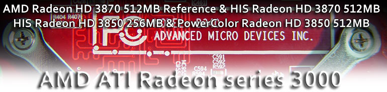 AMD ATI Radeon HD 3000 series review