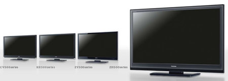 Toshiba launches 10 models of REGZA LCD TV's