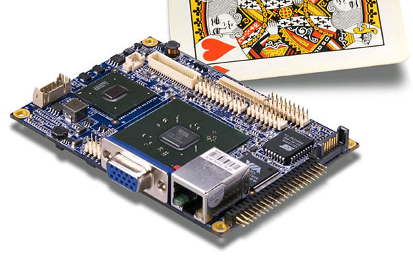 VIA Pico-ITX board with World's Lowest Power x86 Processor