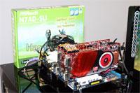 ASRock Enables CrossFire on nForce 740i SLI Motherboard