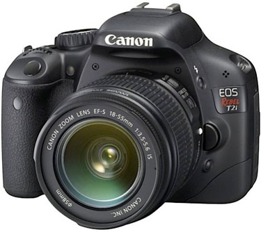 canon rebel t2i manual focus