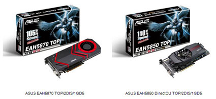 NEW DRIVERS: ASUS EAH5870 SERIES