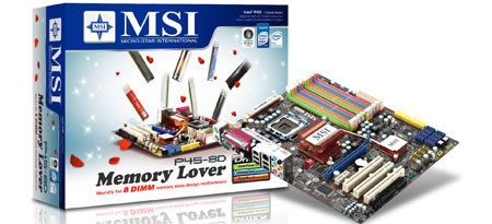 When The Price Of DDR3 Memory Declines Users Can Utilize This To Increase Performance MSI P45 8D Lover Also Comes With Identifier