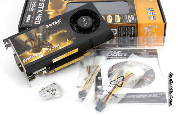 GeForce GTX 460 review (roundup) - Product Gallery Zotac GeForce GTX
