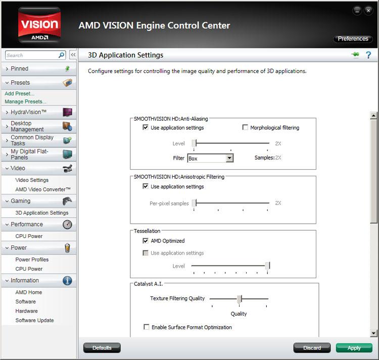 AMD VISION ENGINE CONTROL CENTER WINDOWS 7 64 DRIVER