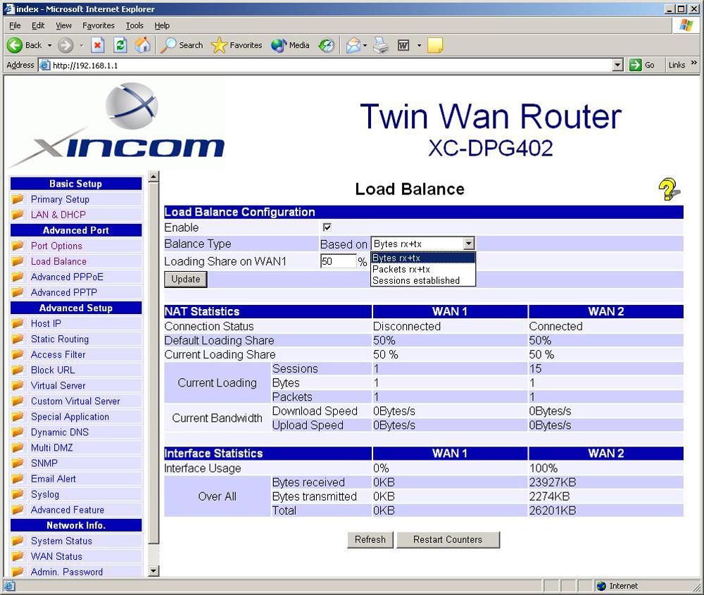 Load Balancing Router – name