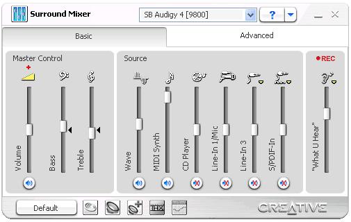 creative sound blaster roar manual