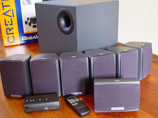 Creative Labs Gigaworks S750 7 1 Speakers Page 6