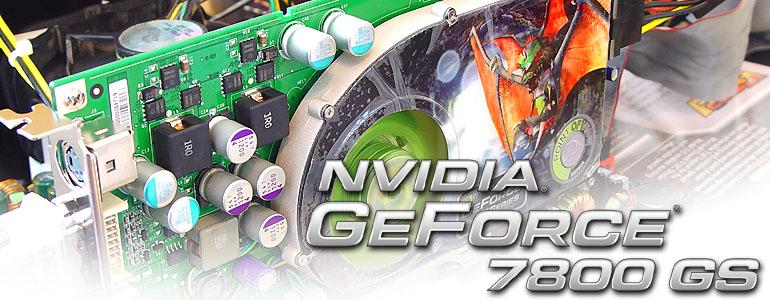 geforce 7800 gs benchmark