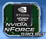NVIDIA nForce 590 SLI with AMD64 Athlon FX-60 and Corsair EPP DDR2 memory