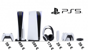 Prices of the Playstation 5 and its accessories get listed: digital edition would cost € 399