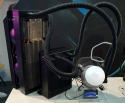 Cooler Master Shows AIO Liquid Coolers And Concept Thermo electric liquid cooler