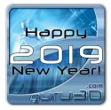 Happy New Year 2019 from Guru3D.com