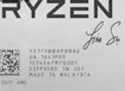 Ryzen 7 2700X 50th Anniversary Edition Gets Laser Inscription With Lisa Su Signature