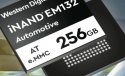 Western Digital Announces new 256GB eMMC iNAND Storage for Automotive usage