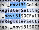 Apple MacOS Big Sur Beta Driver Code Hints towards AMD Navi 31 GPU and APUs