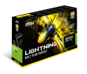 MSI GTX 780 Lightning Lite Edition Card Photo's and Specs
