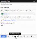 Google Drive integrates in Gmail enable 10 GB attachments