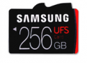 Samsung offers fast UFS memory cards up-to 256GB that do 530 MBps