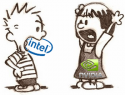 Christmas Pun - Jen-Hsun Huang will become new Intel CEO - NV merges with Intel